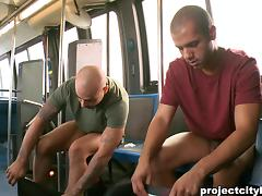 Fabulous Ari Gypsy And Carter Stone Have Sex In A Public Bus tube porn video