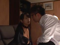 Hottie Hana Haruna with big tits in bondage action tube porn video