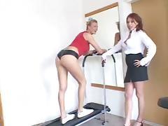 Two White Cougars Take on a Big Black Cock tube porn video