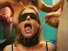 Blindfold bukkake slave part2 tube porn video