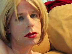 Blond Suck with Facial tube porn video