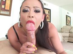 Mia Lelani is swallowing dirty load tube porn video