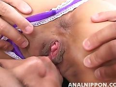Saku Momona Naughty Asian MILF Gets Fucked Anally tube porn video
