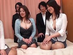 Japanese AV Models are into a hot and wild face-sitting and more tube porn video