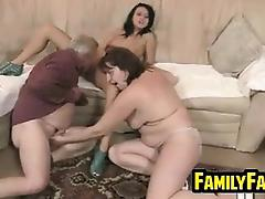 Teen Fucked By Her Fat Father In Law tube porn video