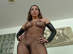 Magnificent Francesca Le Plays With A Strapon In A Solo Model Video tube porn video