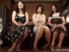 Japanese MILFs Play with Lucky Guys tube porn video