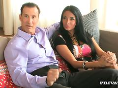 A hot threesome with the hot babes Anissa Kate and Kira Queen tube porn video