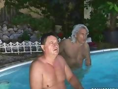 I love guys who have a pool tube porn video