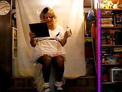sissy pansy's daily Mantra tube porn video
