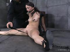 gagged and restrained by her mean master tube porn video