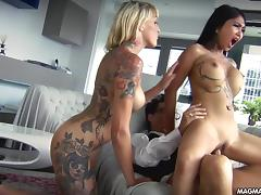 magma film lesbian asian and busty blonde german babes licking pussy tube porn video