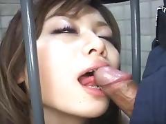 Nihon 9 - Uncensored prison creampie tube porn video