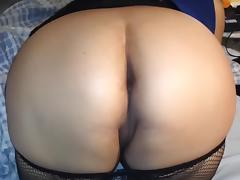 My Wife's New Fishnet Stockings tube porn video