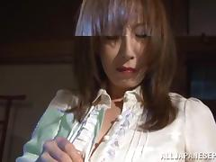 Reiko Sawamura hot Asian milf enjoys bondage sex tube porn video