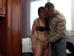 French mature Lou loves anal tube porn video