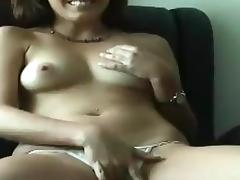 Susan sucks and rubs a prick and gets her shaved vag smashed tube porn video