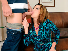 Raquel DeVine & Johnny Castle in Seduced by a Cougar tube porn video