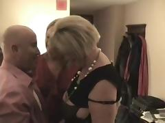 Curvy older 3some with hotel manager tube porn video