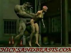 Gates of Hell. Evil Monster Sex 3D tube porn video